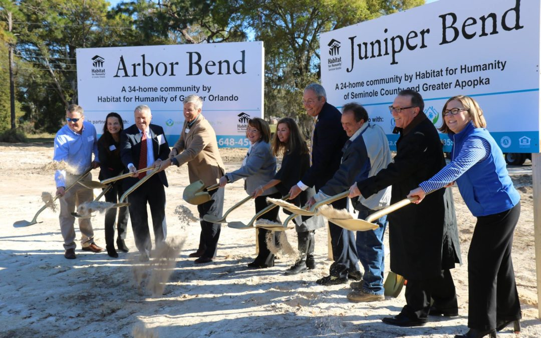 Arbor Bend & Juniper Bend Groundbreaking