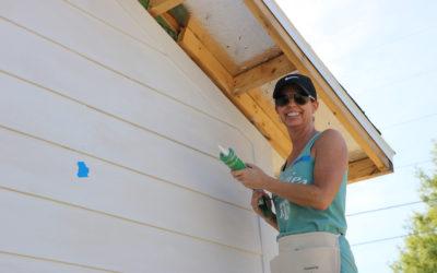 Volunteer Spotlight: Kristen gives back to her community at Women Build