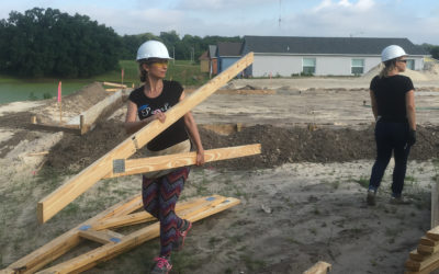 Women Build volunteer Kelli builds community six years running