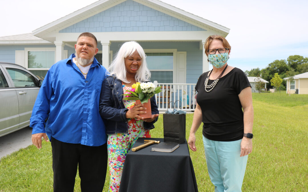 Watch: Home Celebration for new homeowner Christina