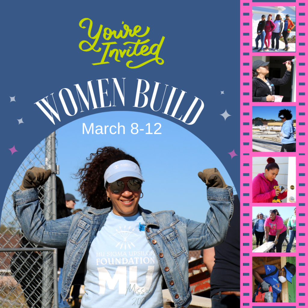 You're invited: Women Build