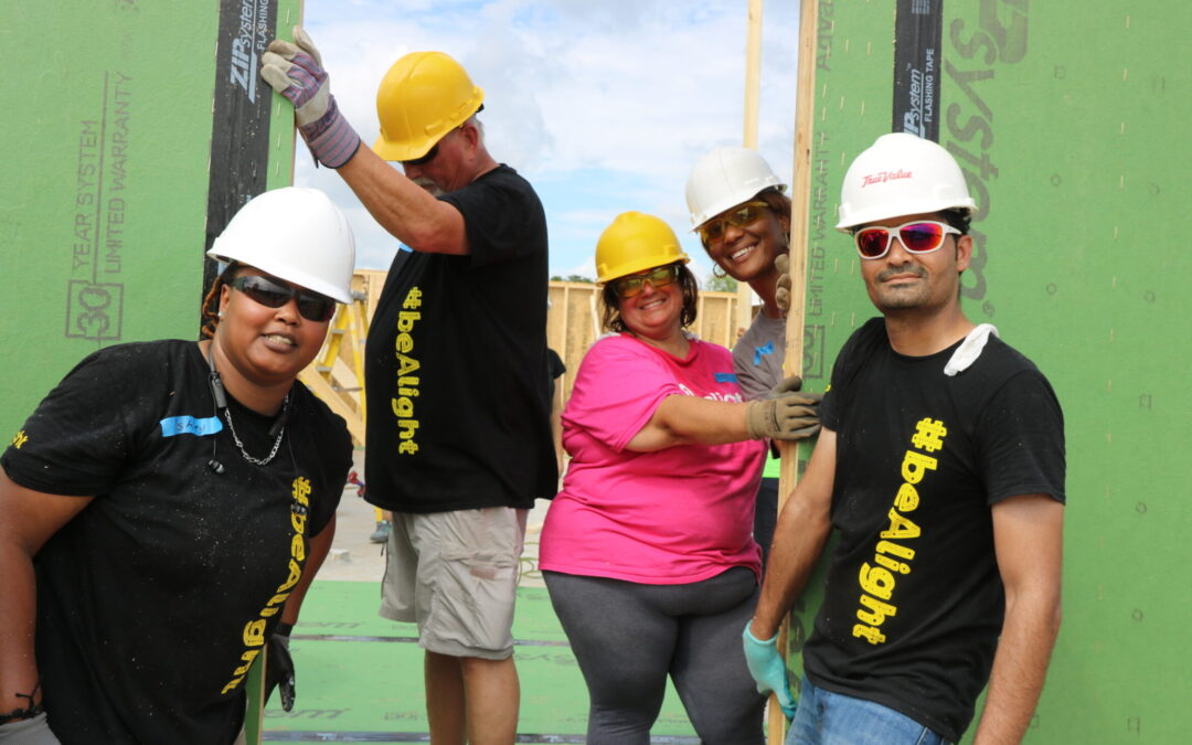 Supporter Spotlight: Alight Solutions' partnership with Habitat Orlando & Osceola furthers mission of empowering people
