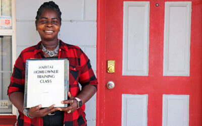 20 years later, Edith still beams about her home — and her daughter is now a Habitat homeowner