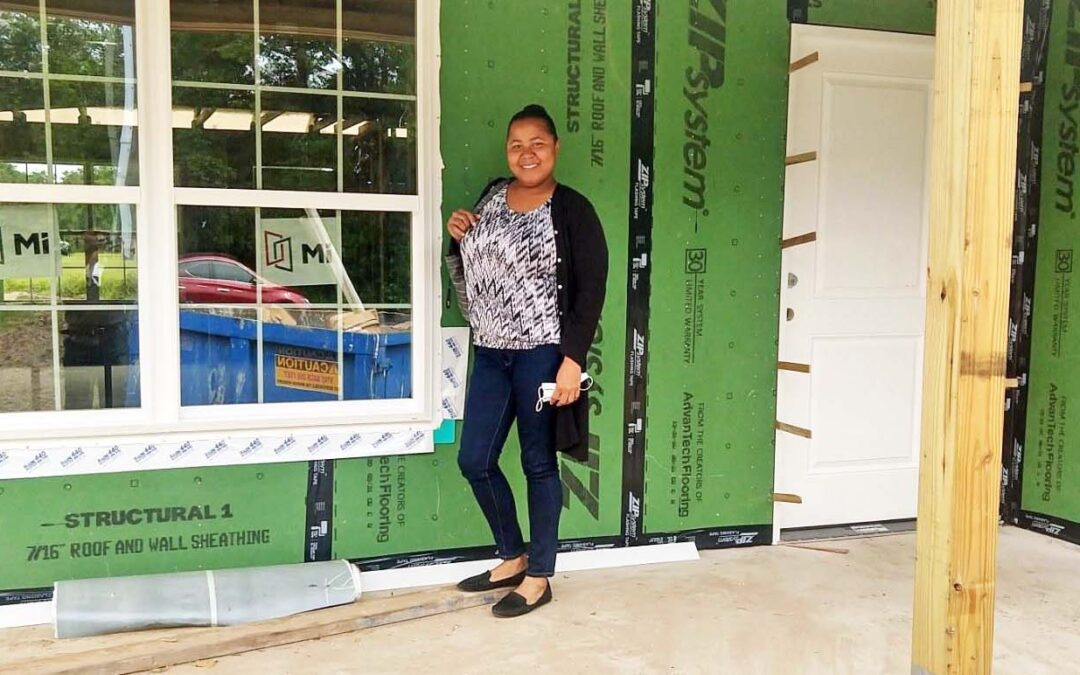 Single mother works toward Habitat homeownership, degrees and brighter future for son