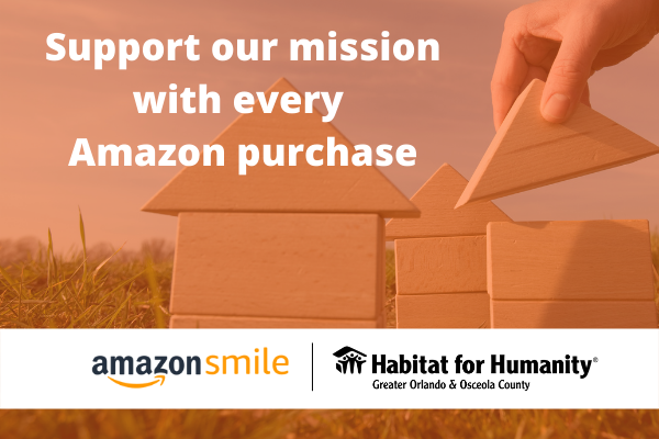 Support our mission with every Amazon purchase